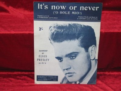 ELVIS -nuotit - It´s now or never
